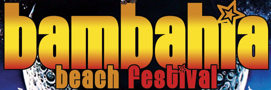 BAMBAHIA BEACH FESTIVAL : SAMSTAG 3. NOVEMBER 2012 : Gestrandet - Indoor Beach Club, Augsburg